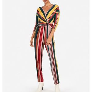 NWT Express Colorful Jumpsuit